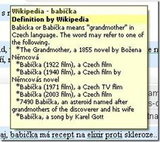 babicka